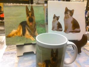 mugs and tiles